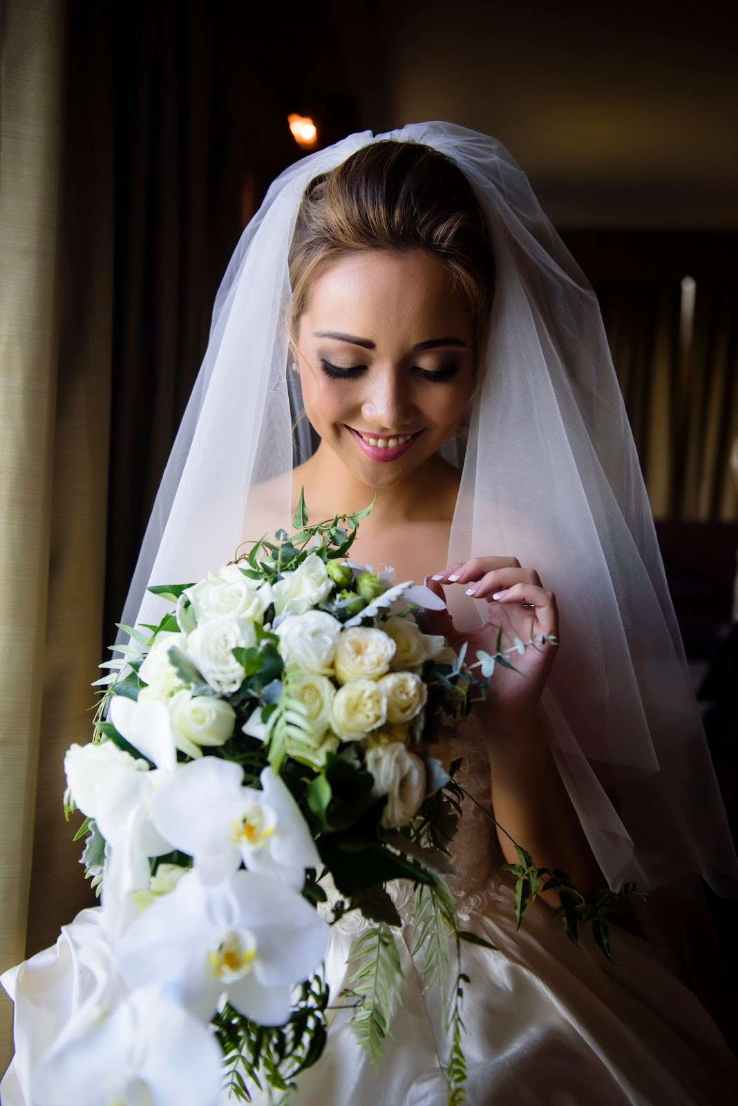 brisbane wedding asian bridal hair and makeup specialist - wedding