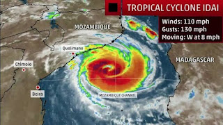 Powerful Tropical Cyclone Moving Toward African Coast [Photo: Weather Channel].