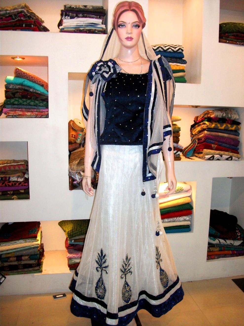 Garggy Fascino Boutique Designer Lehenga Choli Ghaghra
