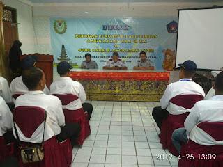 Petugas Pengatur Lalu Lintas dan Juru Parkir Kabupaten Bima Ikuti Diklat