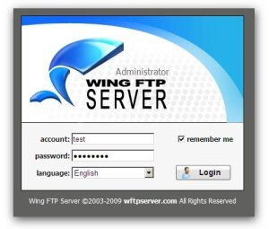 wing ftp keygen
