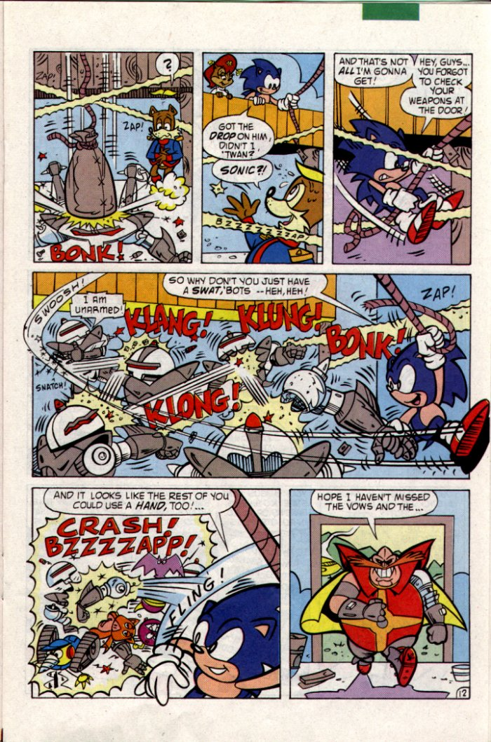Read online Sonic The Hedgehog comic -  Issue #18 - 13