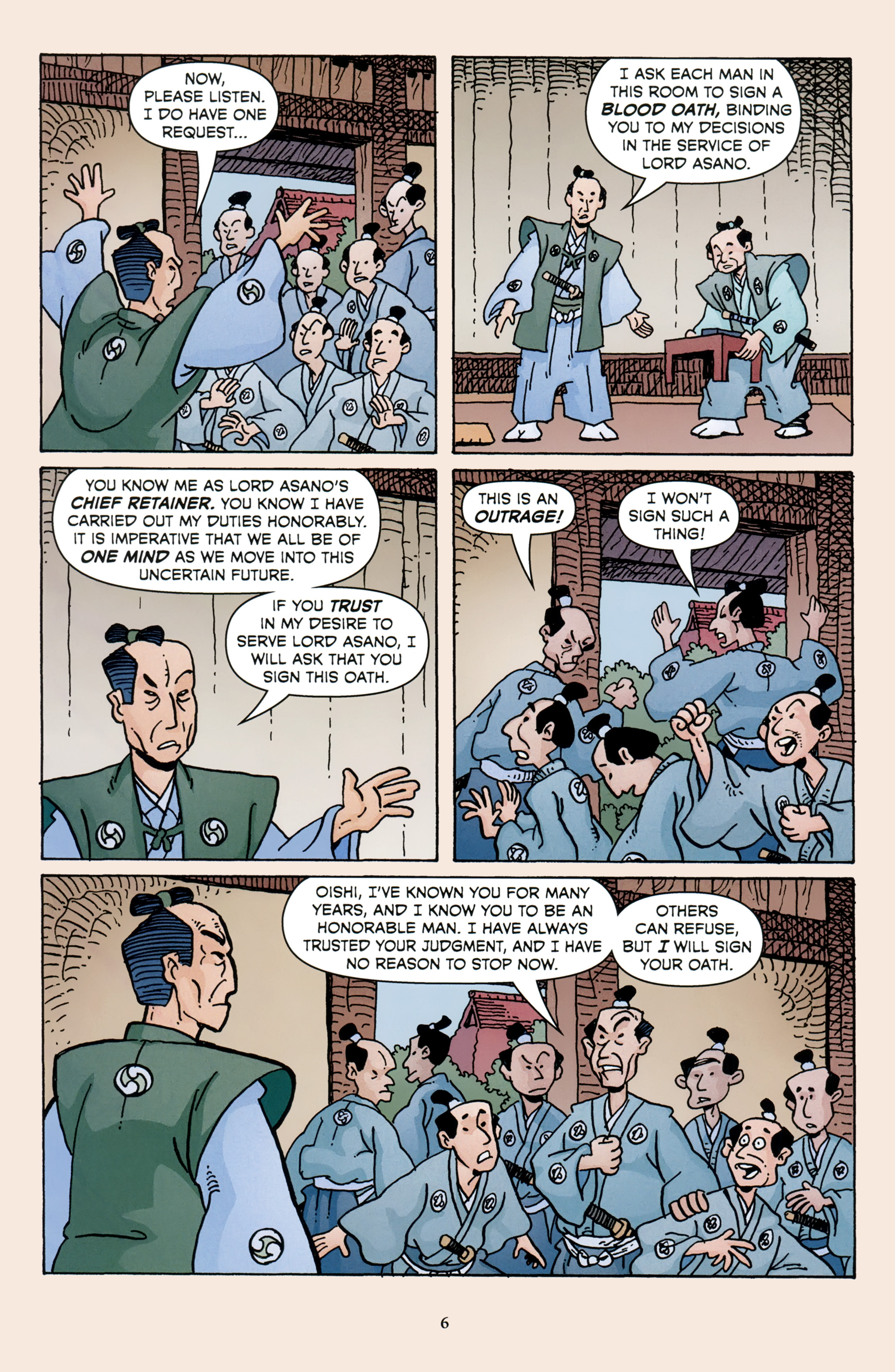 Read online 47 Ronin comic -  Issue #3 - 8
