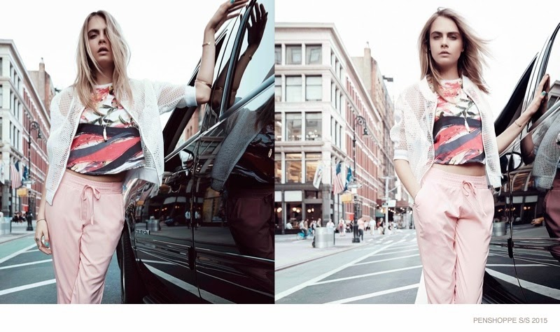 Cara Delevingne Wears Street Style for Penshoppe Spring 2015 ads