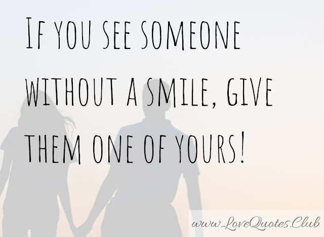 quotes about love making you smile