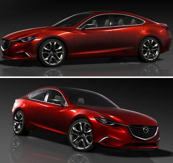 Mazda Takeri Concept Car Overview