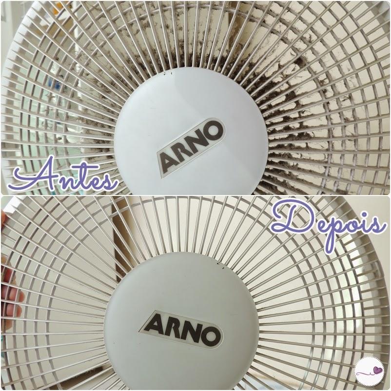 Como limpar poeira do ventilador RAPIDO e facil