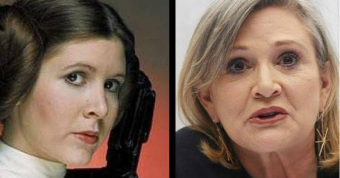 Murió Carrie Fisher, la princesa Leia en Star Wars