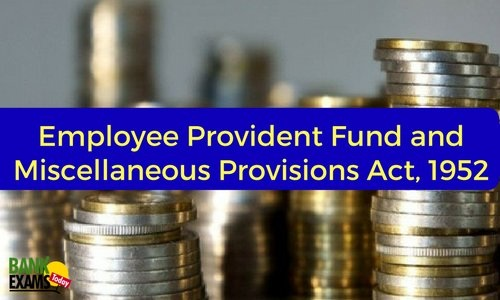 EPF and Miscellaneous Provisions Act, 1952