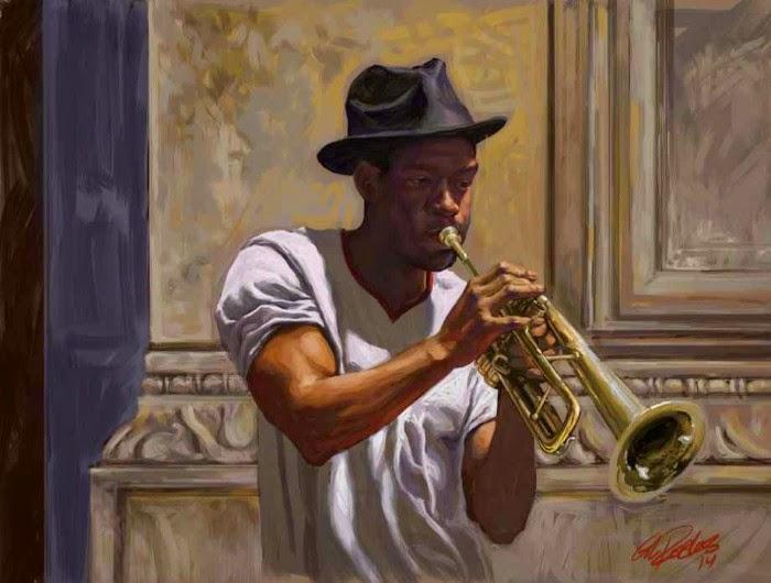 Цифровая живопись. Gil Robles