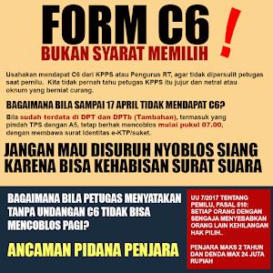 Tak Ada C6 dan Tidak Terdata di DPT, Masih Bisa Nyoblos, Pahami Aturan Ini
