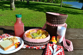 Party Picnic Basket by Hatched With Love