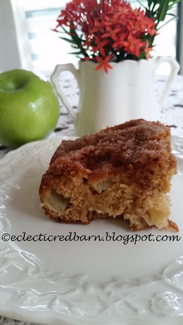 Eclectic Red Barn: Apple Cake with Granny Smith Apples