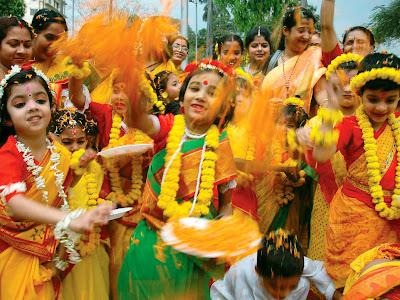 Holi Festival in Kolkata