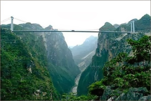 Jembatan Sungai Sidu di China