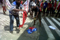 Bendera Apakah Yang dibakar itu?