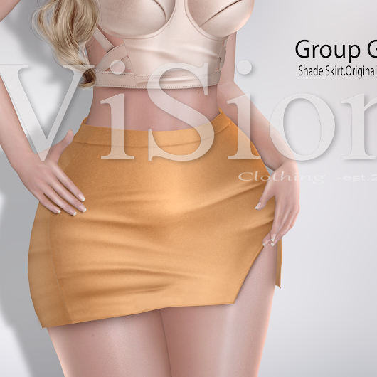 (ViSion} -S&F *Shade Skirt - Group Gift