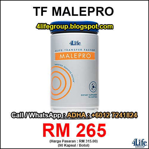 foto 4Life Transfer Factor Male Pro