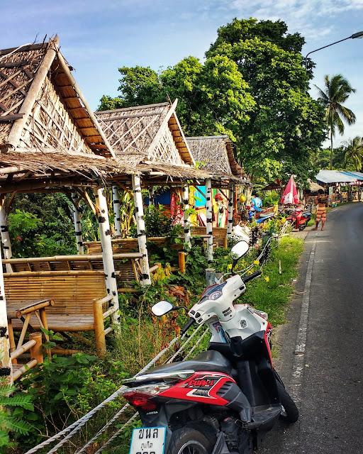 Phuket on motorbike
