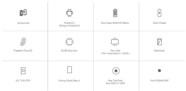 American Deals: Reducere Smartphone, Ulefone Power, 5.5