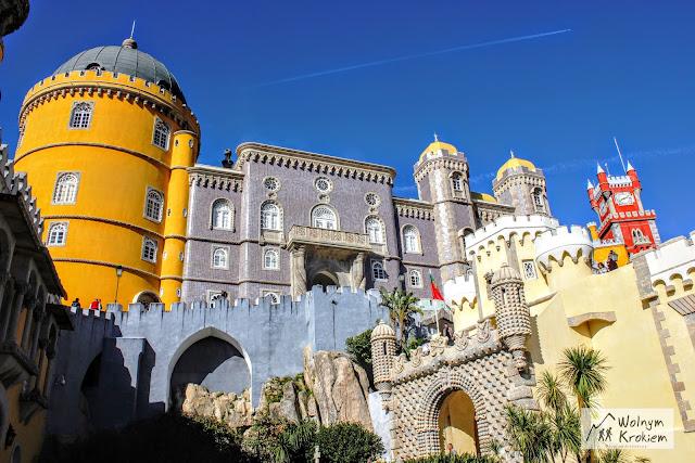 Baśniowy Pałac Pena w Sintrze