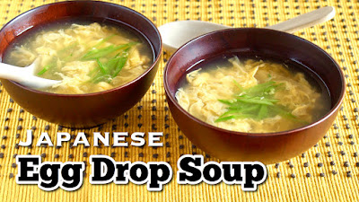 How to Make Japanese Egg Drop Soup