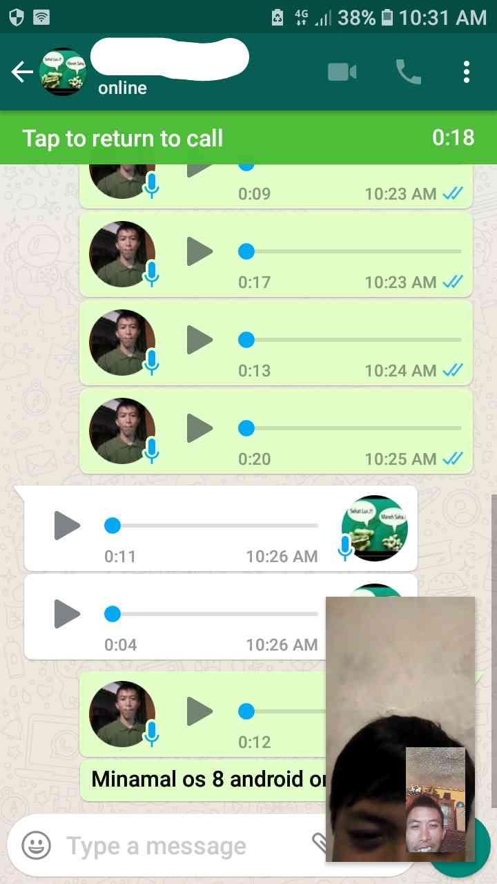 Cara video call sambil chat messenger di android dengan gampang