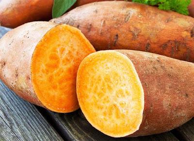 البطاطا الحلوة غذاء صحي للجسم