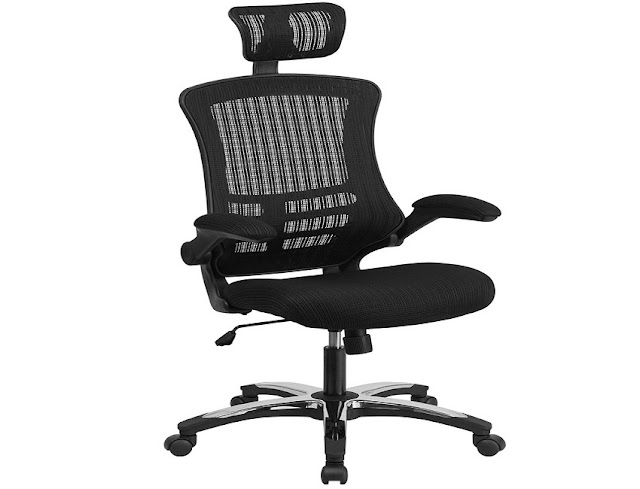 best buy ergonomic office chair with neck support for sale