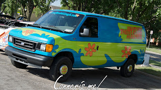 Ford E250 Mystery Machine Wrap