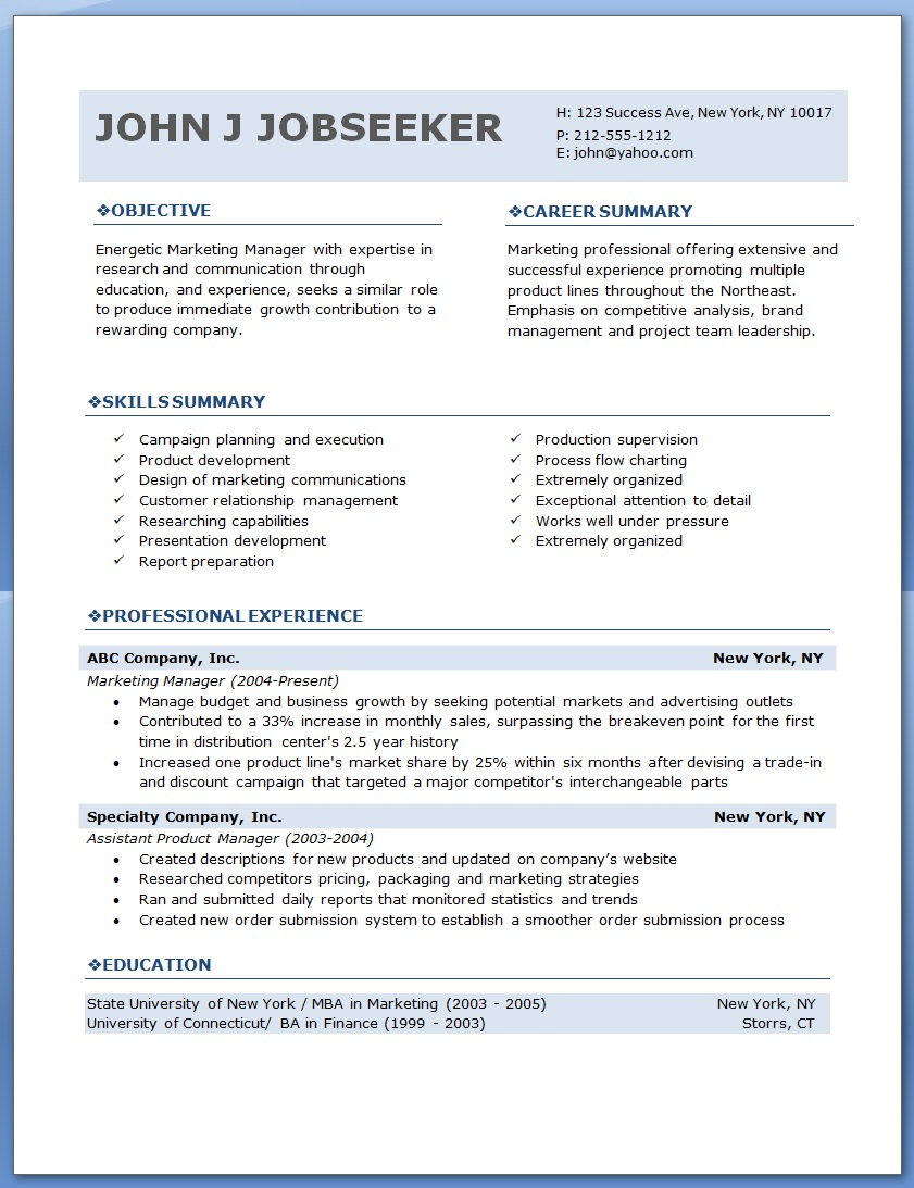 Effective Resume Writing Word Is Your Resume Template Holding You Back  Dadakan Human Resources Assistant Resume Excel with Executive Assistant Sample Resume Is Your Resume Template Holding You Back Great Resume Designs Word