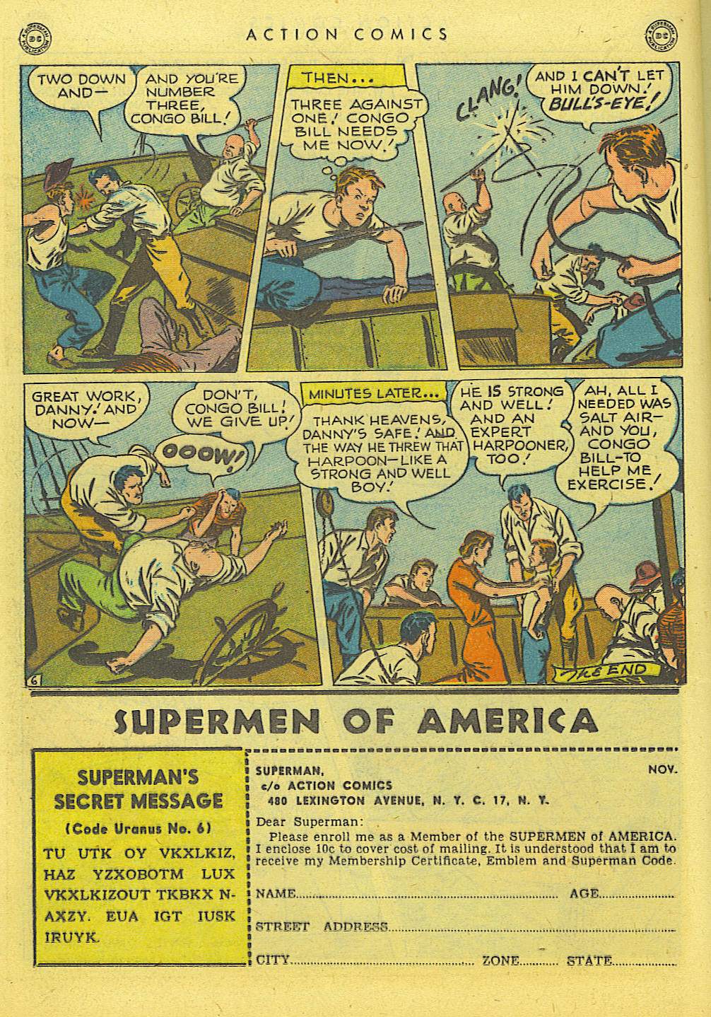Read online Action Comics (1938) comic -  Issue #114 - 22