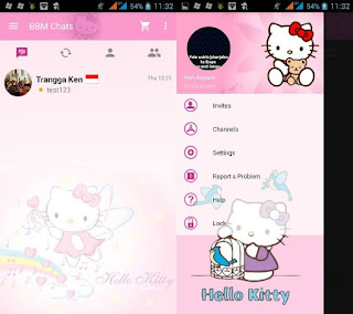 BBM Mods Hello Kitty Apk 2.10.0.35 + Clone