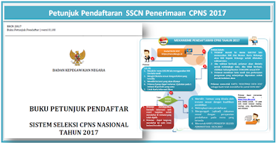 Petunjuk Pendaftaran SSCN Penerimaan CPNS 2017
