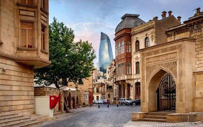 المدن في اذربيجان