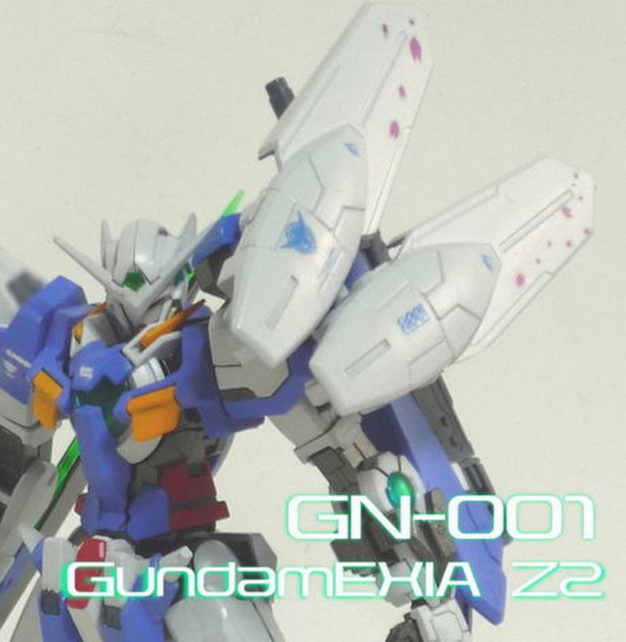 "Custom Build: HG 1/144 GN-001 Gundam Exia ""Z2"""