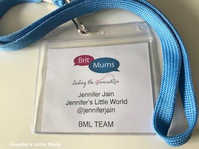 BritMum's Live 2017 badge