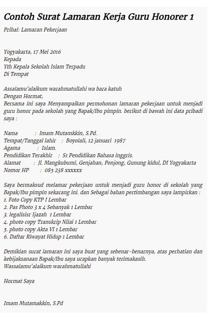 Contoh Cv Curriculum Vitae Lamaran Kerja Fresh Graduate Terupdate