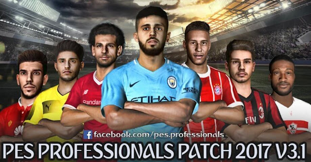 PES Professionals Patch V3.1 PES 2017