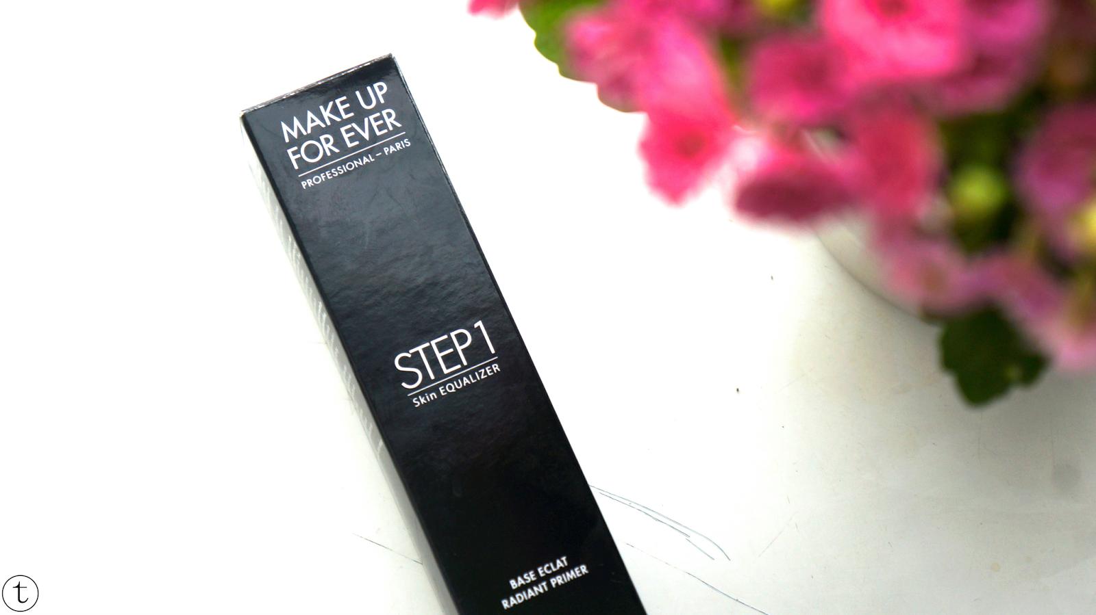 review Step 1 Skin Equalizer Radiant Primer of Makeup Forever
