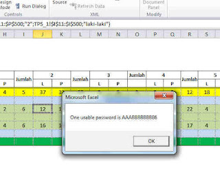 Cara Membobol Password Sheet Excel