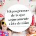 10 programas de televisión que seguramente viste de niño