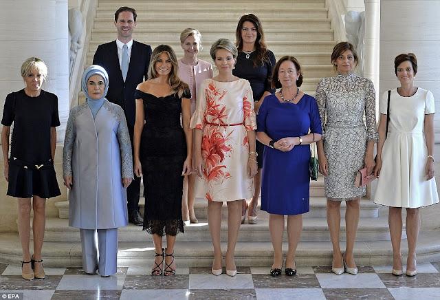 """Οι """"πρώτες κυρίες"""" των πρωθυπουργών του ΝΑΤΟ"""
