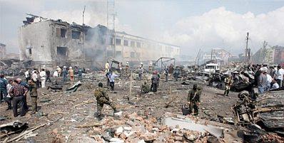 Chechnya: rubble