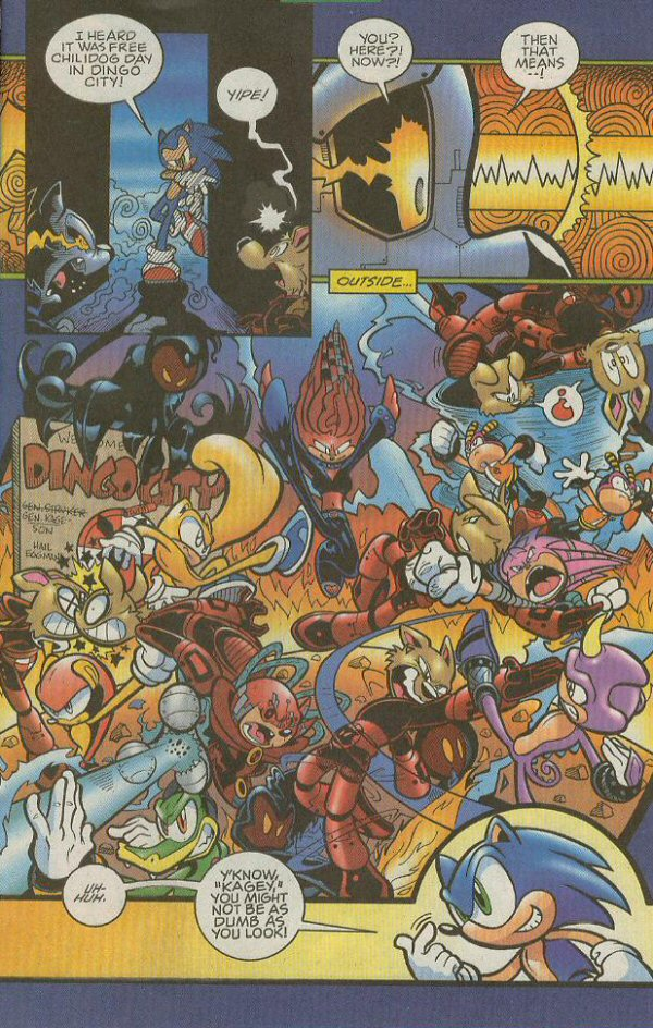 Read online Sonic The Hedgehog comic -  Issue #140 - 14