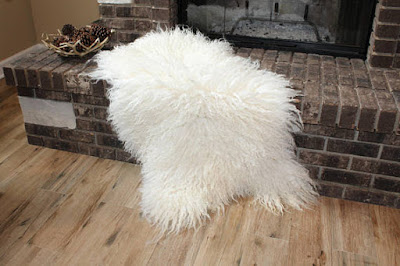 Icelandic Curly Sheepskin Carpet