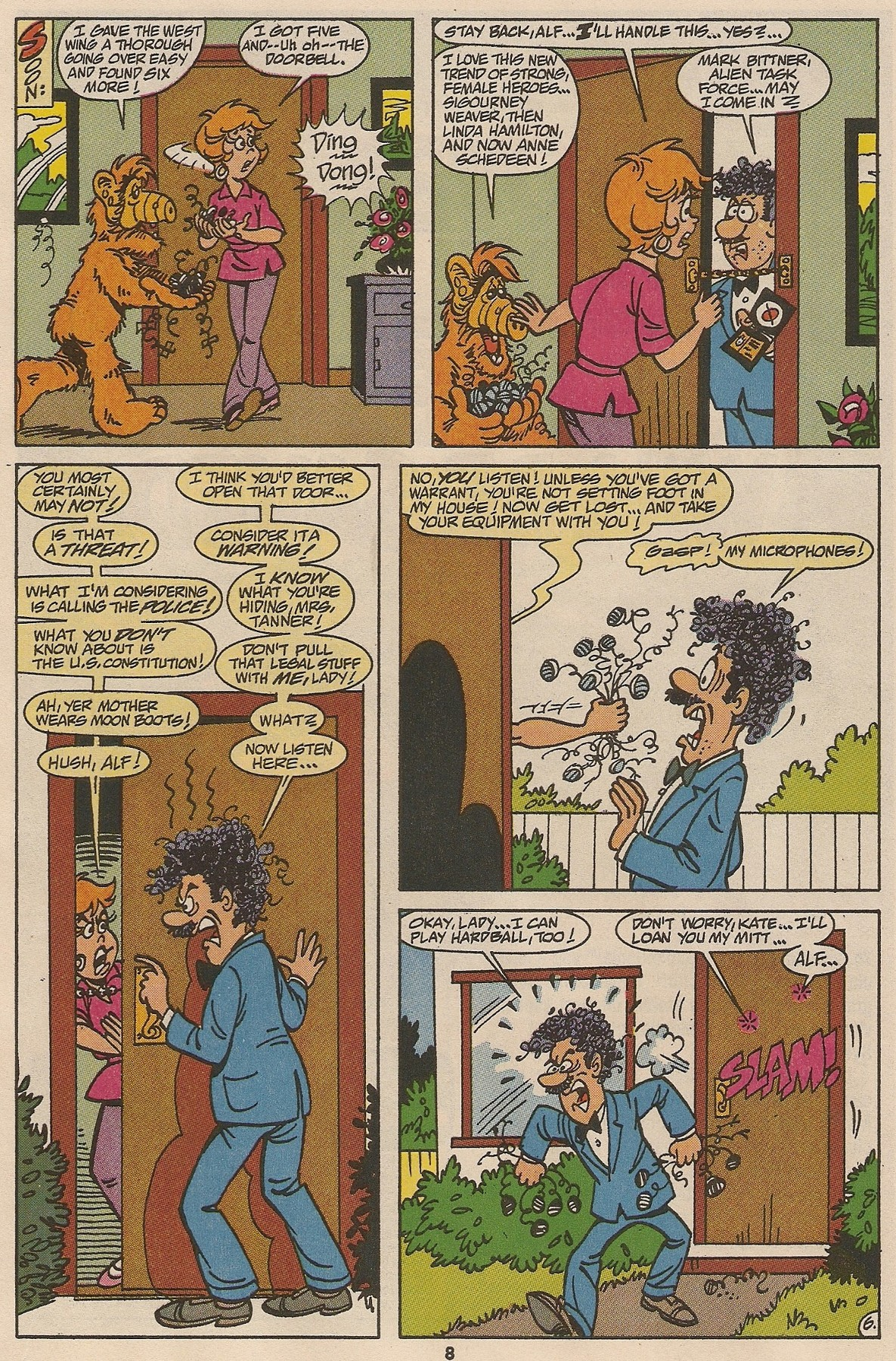 Read online ALF comic -  Issue #48 - 10