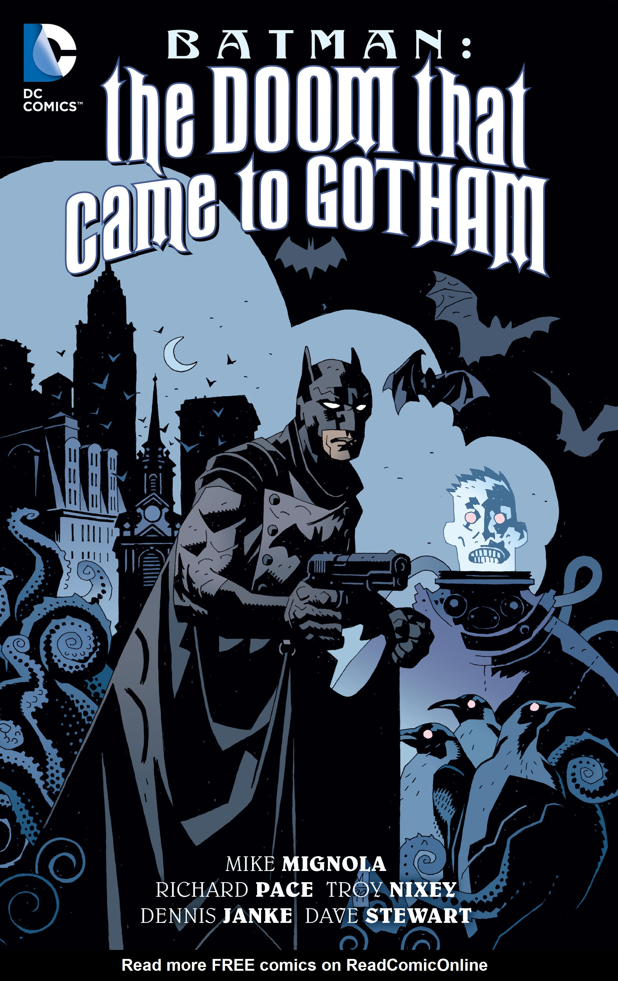 Batman: The Doom That Came to Gotham Full Page 1