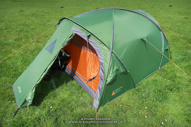 Vango Nemesis 300 tent review camping best tent 2 man 3 person cheapest wild camping
