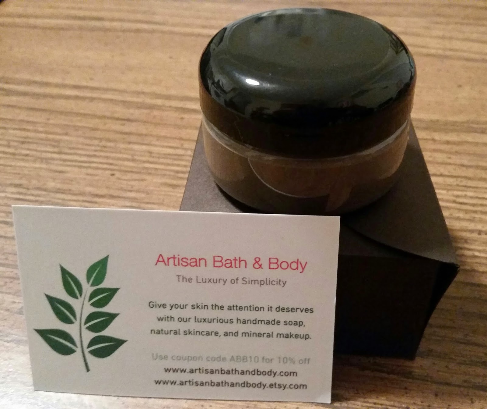 Dead Sea mud mask from Artisan Bath & Body